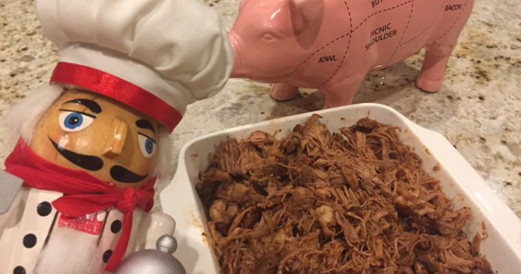 Juicy Smoked Pulled Pork