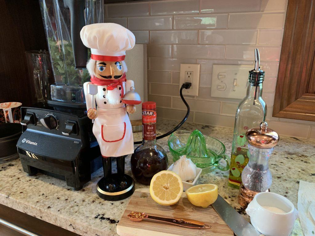 Easy Chimichurri Sauce Ingredients