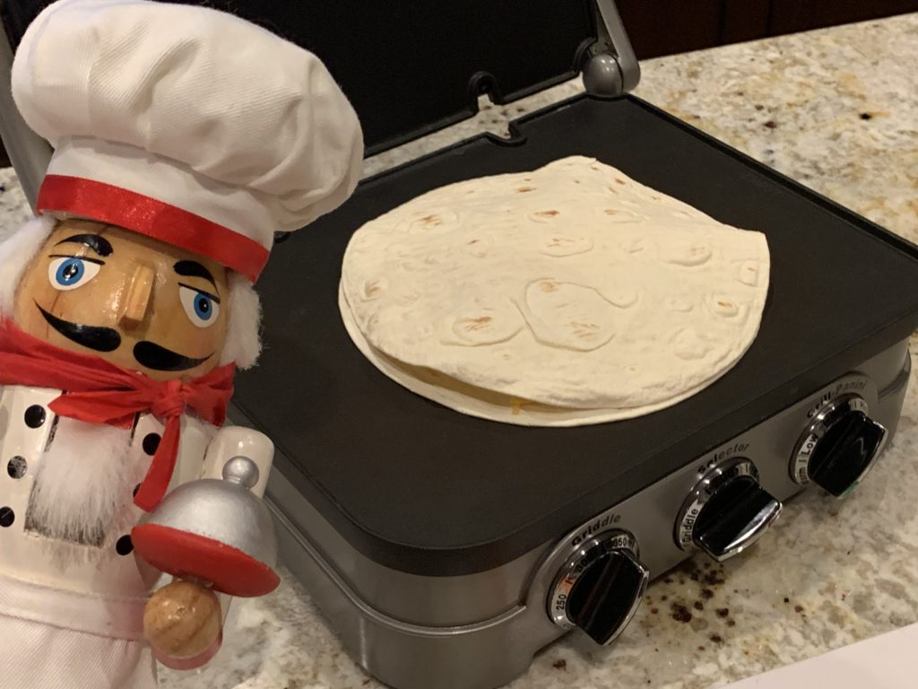 Griddler or panini maker make this faster and easier