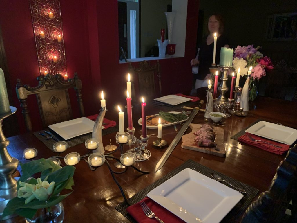 Medieval table setting / Game of thrones