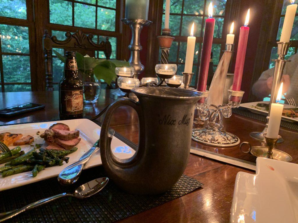 medieval beer mug