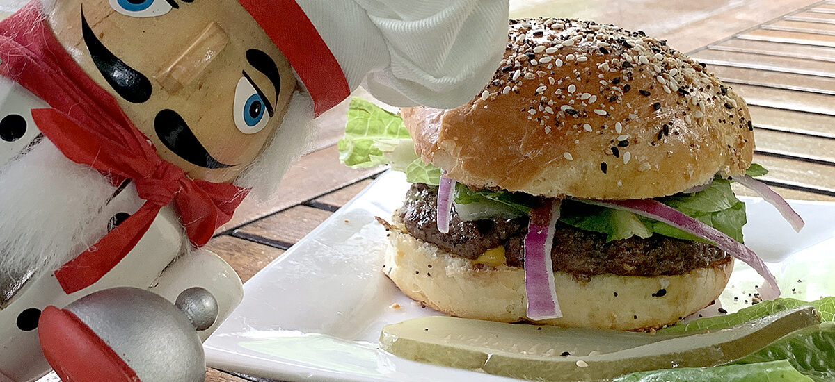 Best Homemade Grilled Burgers
