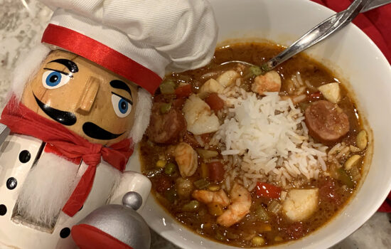 The Best Seafood & Chicken Gumbo
