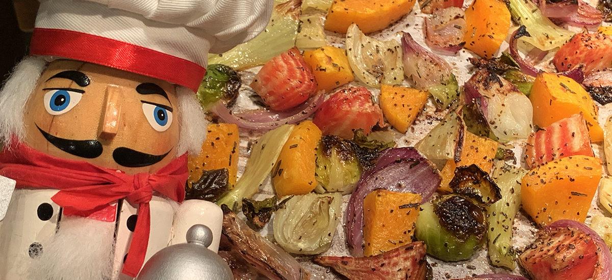 Easy & Healthy Roasted Fall Veggies