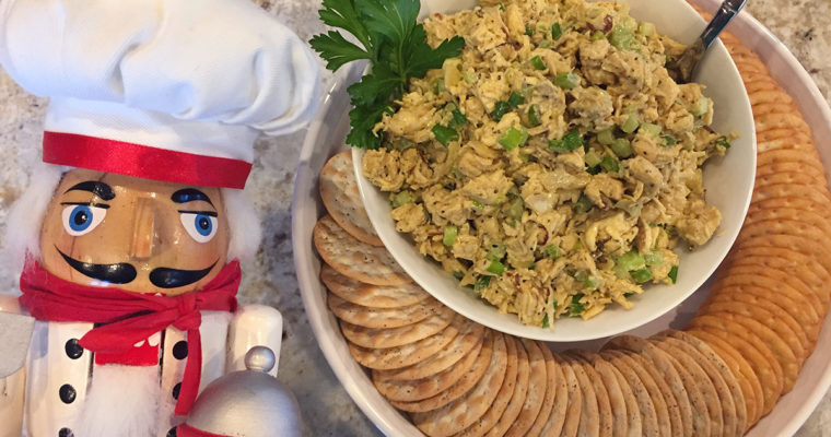 Light & Healthy Curry Chicken Salad