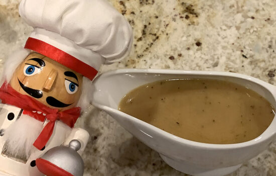 Pan Gravy From Meat Drippings