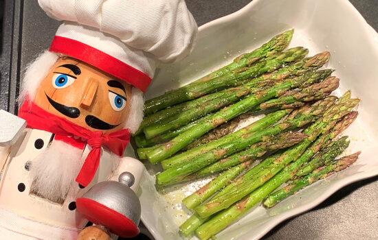 3 Minute Microwave Asparagus