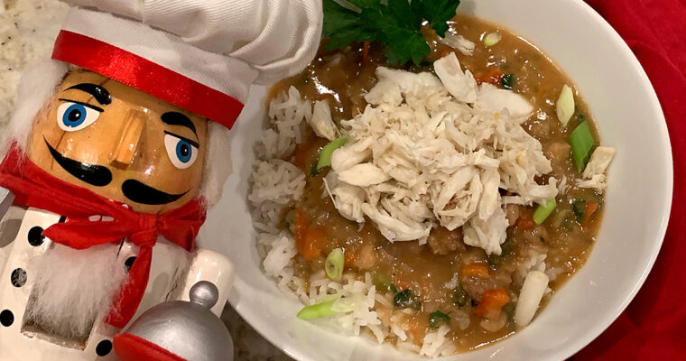 Alligator & Crab Étouffée